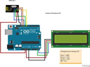 arduino-meteo-nrf24l01-dht11-display-rx