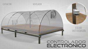 parabolic solar coffee dryer
