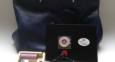Wireless Powered Bag